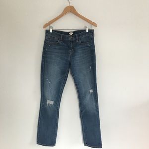 J Crew Jeans stretch straight leg/skinny